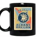 Albany oregon solar eclipse 2017 Coffee Mug_Black