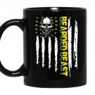 Bearded beast coffee Mug_Black
