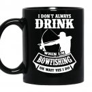 Bowfishing coffee Mug_Black