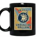 Corvallis oregon solar eclipse 2017 Coffee Mug_Black