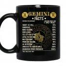 Gemini factsgemini awesome horoscope coffee Mug_Black