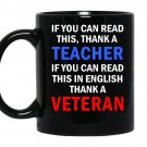 If you can read this in english thank a veteran coffee Mug_Black