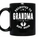 Promoted to grandma 2016 coffee Mug_Black