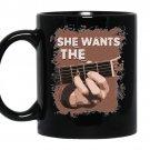 She wants the d chord guitar coffee Mug_Black