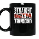 Straight outta trinidadtrinidad flag coffee Mug_Black