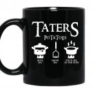 Taters po ta toes coffee Mug_Black