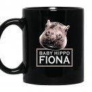 Baby hippo fionateam fiona the hippo coffee Mug_Black