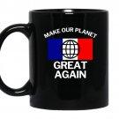 Make our planet great again french flag coffee Mug_Black