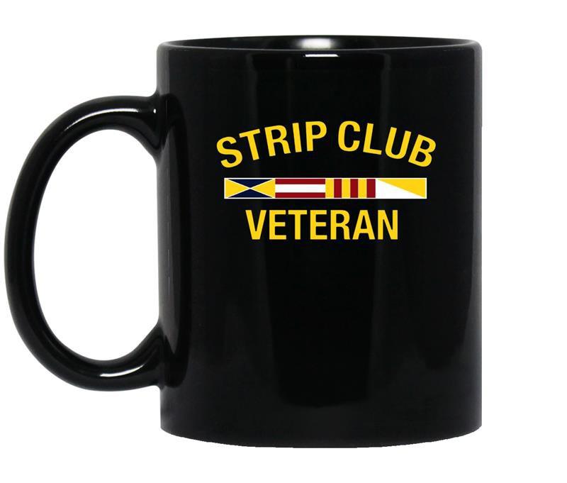 Military strip club veteran 20509 coffee Mug_Black