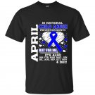 April is national child abuse prevention month t-shirt