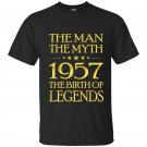 The man the myth 1957 the birth of legends t-shirt