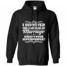 32nd wedding anniversary gift ideas for her him i survived Hoodie