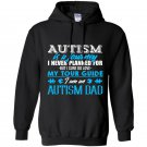 Autism is a journey i am an autism dad Hoodie