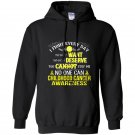 I fight everyday childhood cancer awareness Hoodie