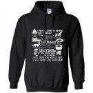 I will drink wine everywhere funny Hoodie