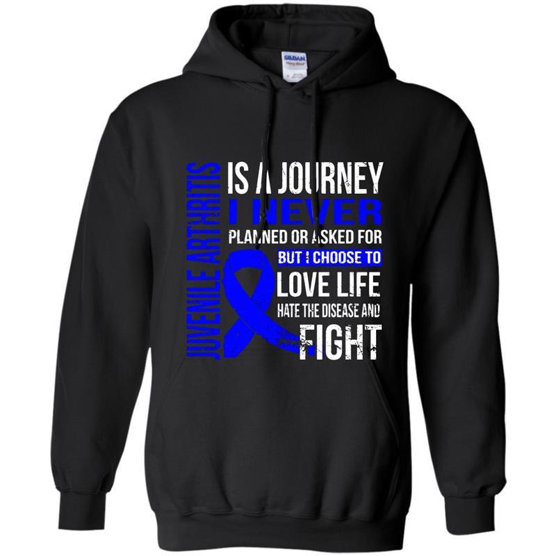 Juvenile arthritis is a journey i choose fighting Hoodie