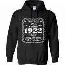Made in 1922 95th birthday gift Hoodie