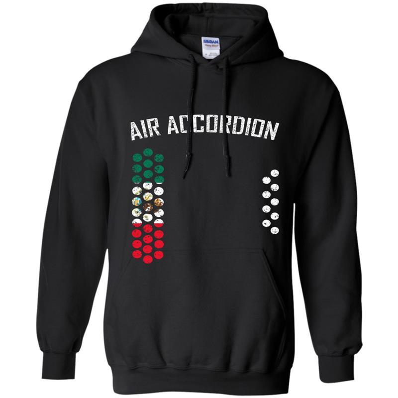 Mens air accordion mexico Hoodie