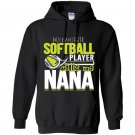 Softball nana favorite player calls me nana Hoodie