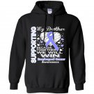 Supporting my brother esophageal cancer awareness Hoodie