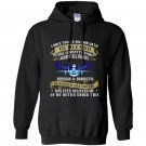 Us air force i once took a solemn oath veteran Hoodie