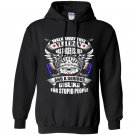 Walk away this veteran has anger issues us veteran army gift Hoodie