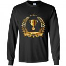 1 son in law with trophy gift for best son in law Long Sleeve Gildan