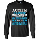 Autism is a journey i am an autism dad Long Sleeve Gildan