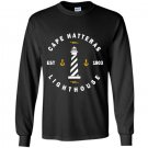 Cape hatteras lighthouse outer banks nc obx Long Sleeve Gildan
