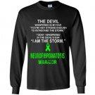 I am the storm neurofibromatosis warrior Long Sleeve Gildan