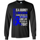Juvenile arthritis is a journey i choose fighting Long Sleeve Gildan