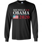 Mens michelle obama 2020 Long Sleeve Gildan