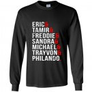 Pro african american for anti police brutality Long Sleeve Gildan