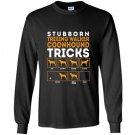 Stubborn treeing walker coonhounds dog tricks Long Sleeve Gildan