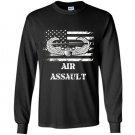 Us army air assault badge Long Sleeve Gildan