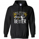 Brave firefighters make our lives better firefighter Hoodie