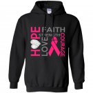 Hope faith strength love courage Hoodie