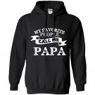My favorite people call me papa fathers day gift Hoodie