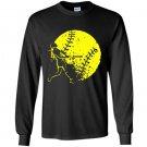 Base ball lover Long Sleeve Gildan