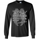My grandmother loves me and watches over me Long Sleeve Gildan
