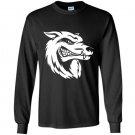 The wolf Long Sleeve Gildan