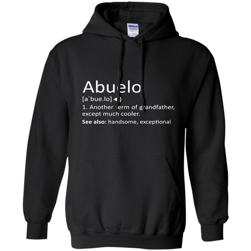 Mens abuelo definition funny gift for spanish grandfather Hoodie