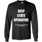 Deep state operative tee Long Sleeve Gildan