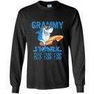 Grammy shark doo doo doo shark sunglasses Long Sleeve Gildan