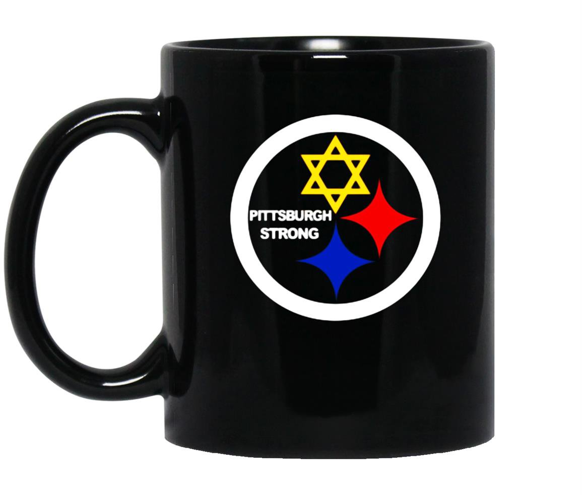 Pittsburgh steelers stronger than hate Coffee Mug