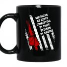 American by birth christian by faith veteran Mug Black