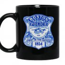 Boston police department shieldtee Mug Black