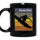 Costa rica surfing lovers beach surf fans Mug Black