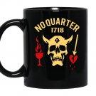 No quarter 1718 Mug Black