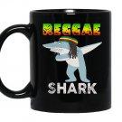 Reggae shark Mug Black